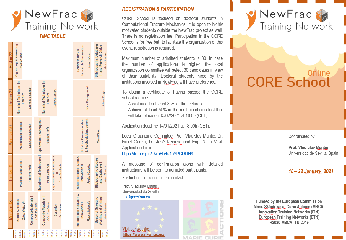 NewFrac CORE School