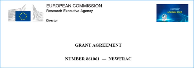 NewFrac Grant Agreement is signed